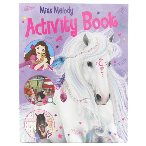 Activity book Miss Melody