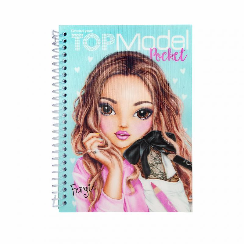 Maľovanky Top Model Pocket