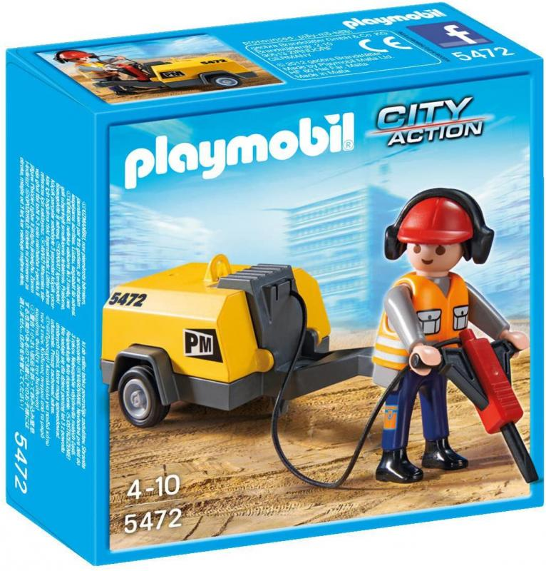 Playmobil 5472 Robotník so zbíjačkou