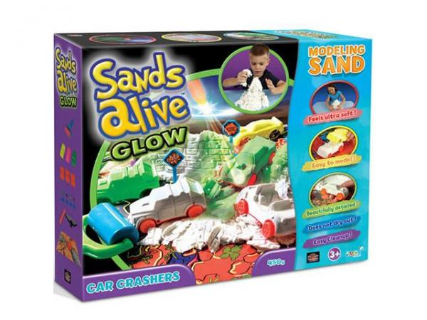 Sands alive glow Car crashers